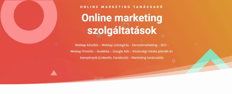 Online marketing tanácsadás